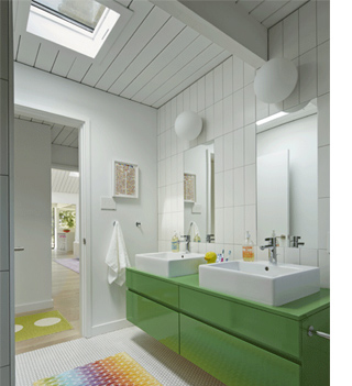 skylights and white painted panelling light bright home painted timber wood ceiling