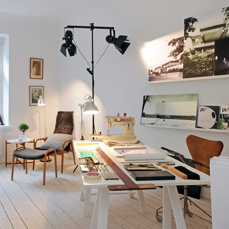 Modern ideas for home office workspaces