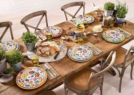 HOME DZINE Garden | Set the outdoor table for alfresco dining
