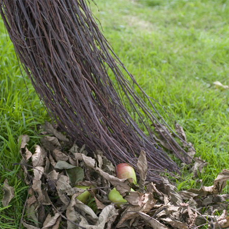 Eco-friendly garden crafts besom broom or brush