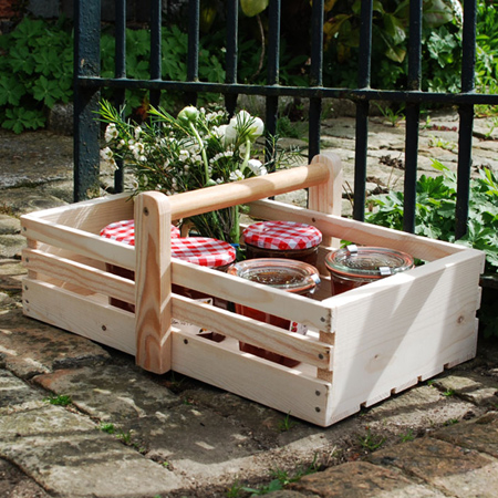 Eco Friendly Garden Craft Projects Trug