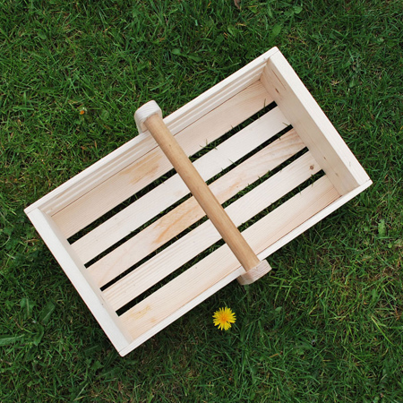 Eco-friendly garden craft projects trug