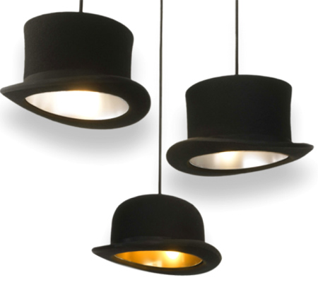 Jeeves and Wooster hat lights