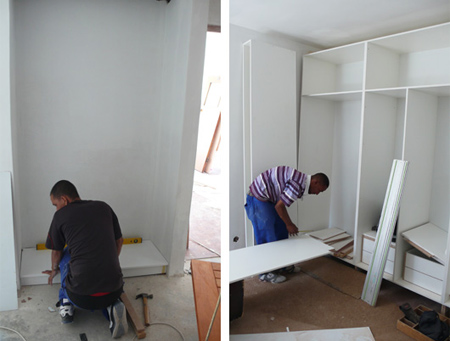 Home Dzine Home Diy How To Build And Assemble Built In Cupboards Or Wardrobes