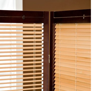Screen Divider With Venetian Blinds