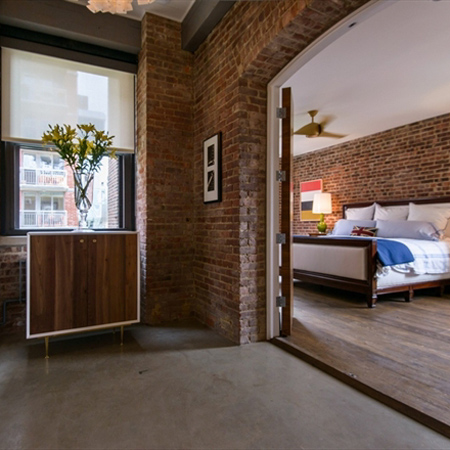 Home dzine home decor modern facebrick interiors for Face brick home designs