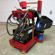Make a welding cart for your welding machine