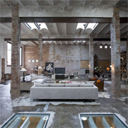 Modern face brick interiors