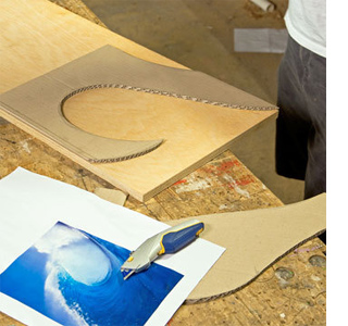 How to make a surfboard table