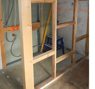 Build A Timber Interior Wall