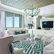 Decorate with rugs