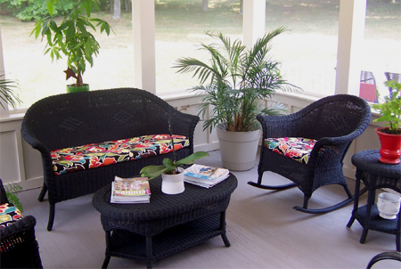 ... Paint Wicker Furniture  U003e Source. If You Re A Fan Of Home Dzine Know  How Much I Love Using Rust Oleum