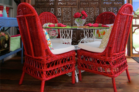 HOME DZINE Craft Ideas  Revamp patio furniture