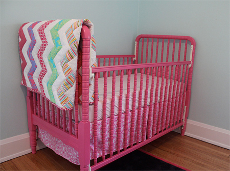 Home Dzine Bedrooms How To Paint A Cot Or Crib