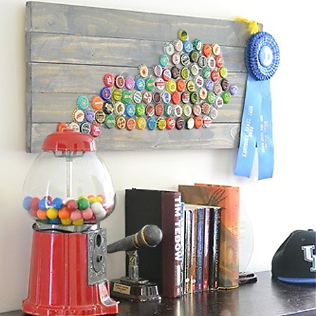Crafting With Plastic Bottle Caps