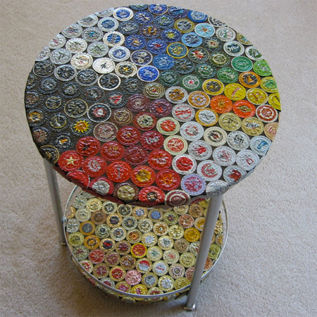 Home Dzine Crafts Ideas Craft Using Bottle Caps