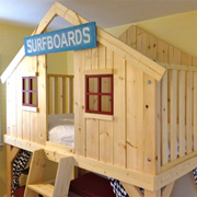 Playhouse | Clubhouse loft bed