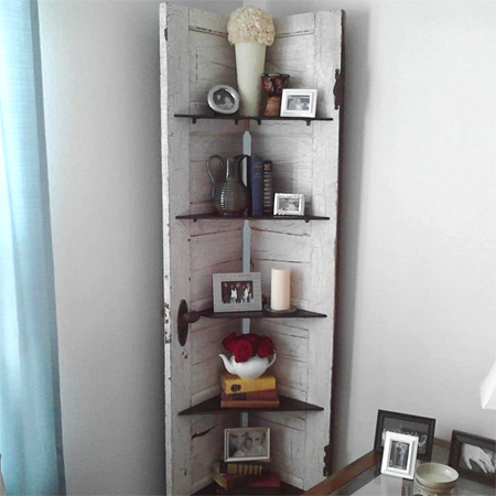 Home Dzine Craft Ideas Ideas For Using An Old Door Or
