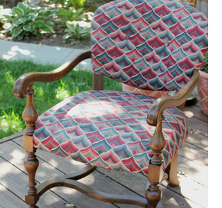 How to paint upholstered furniture