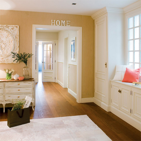decorate a warm entrance hall ideas