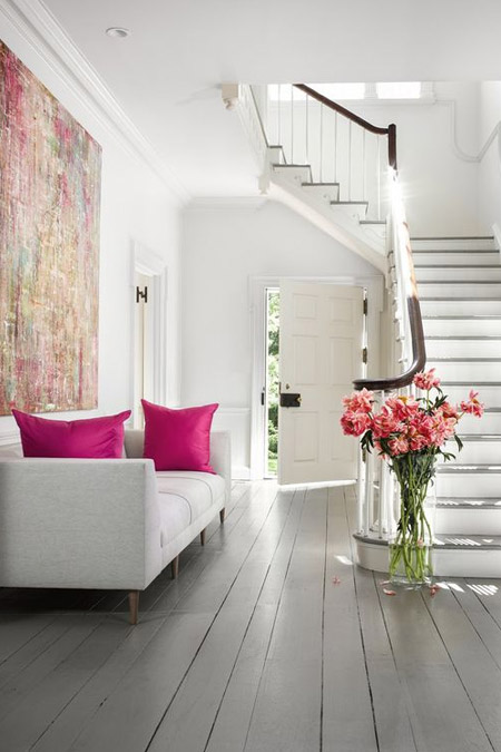 Home Dzine Ideas And Tips For Painted Wood Floors