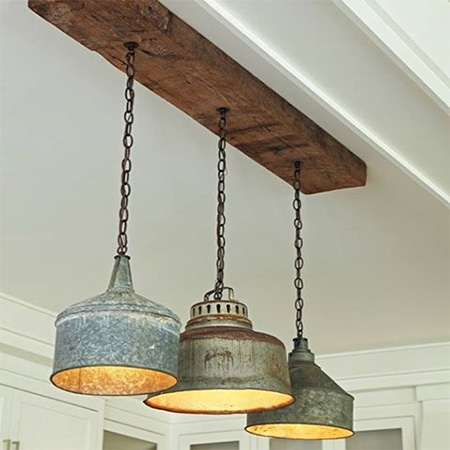 milk churn container tin light fitting pendants