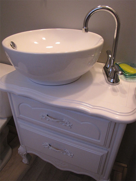 Home Dzine Bathrooms Convert An Old Chest Of Drawers