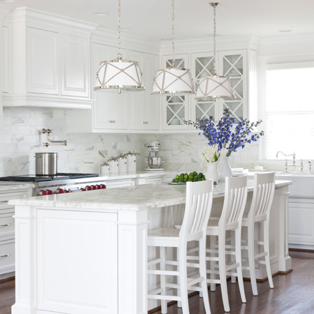All-white kitchen ideas
