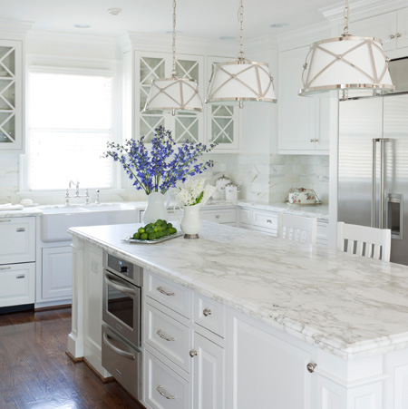 HOME DZINE Kitchen | All-white kitchen ideas