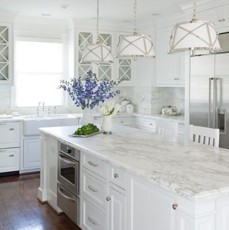 HOME DZINE Kitchen All-white kitchen ideas