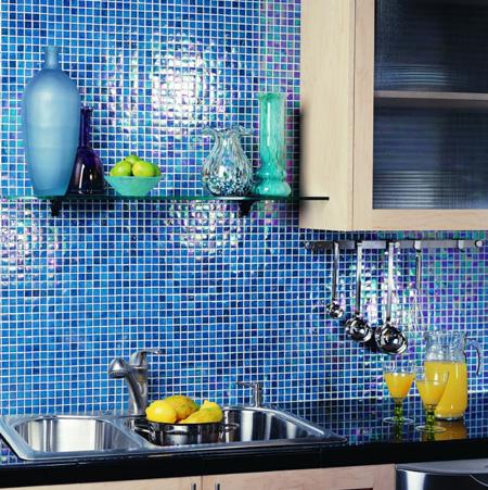 Backsplash tile kit