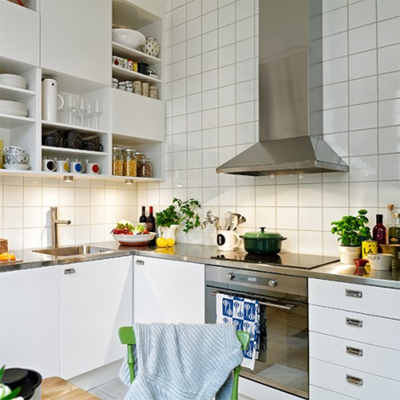 decorating with white living spaces interiors in kitchen