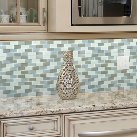 Home dzine kitchen mosaic tiles for kitchen backsplash Mosaic kitchen wall tiles ideas