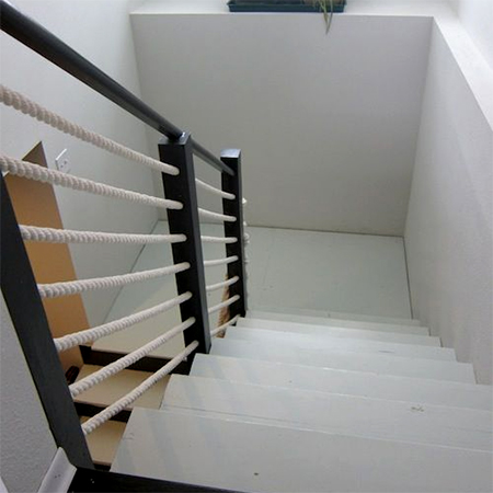Rope Staircase Railing Bannister