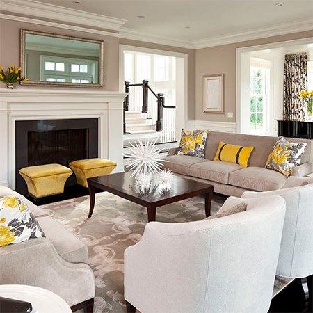 White, whether walls and trim or just a few accent pieces, dress any home with timeless elegance
