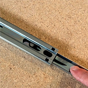 How to separate ball-bearing drawer runners