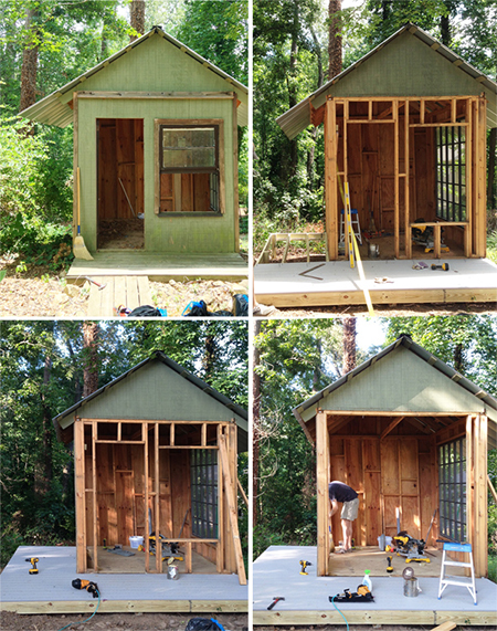 How To Turn Outdoor Shed Into A Playhouse Joy Studio