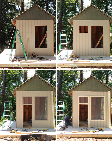 How to turn outdoor shed into play house joy studio How to turn a barn into a home