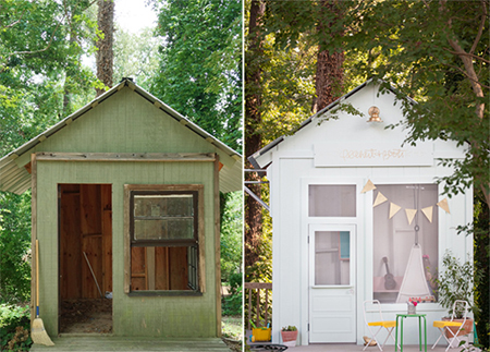 Home Dzine Home Diy Turn That Old Shed Or Garden Hut