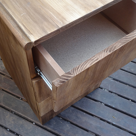 DIY 4 Drawer Cabinet With Easy Install Drawer Runners