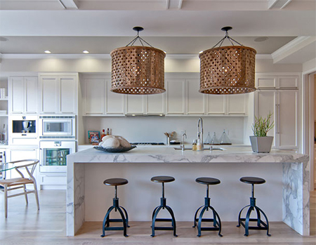 spring summer decorating home ideas lighting kitchen