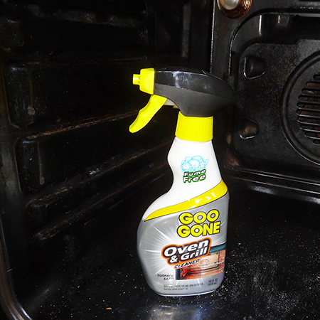 Goo Gone oven and Grill Cleaner