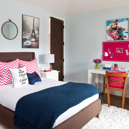 HOME DZINE Bedrooms From Child To Teenager Decorating