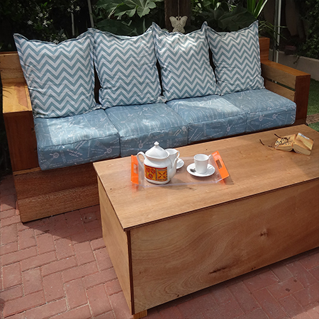 diy modern outdoor sofa with diy outdoor storage coffee table
