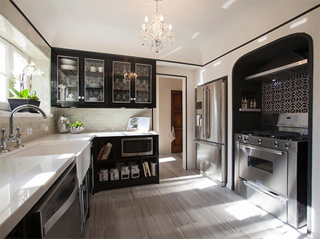 Kitchen renovations that won't empty your wallet black kitchen