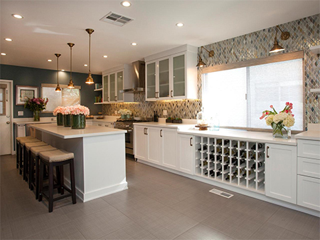 Kitchen renovations that won't break your wallet move into dining space