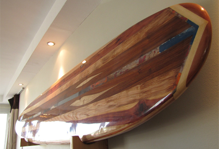 Working with wood: Burnett surfboards