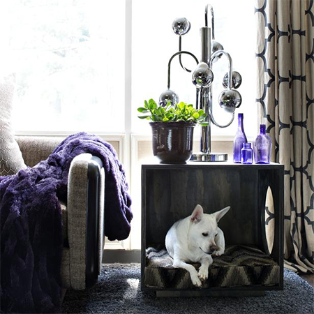 pet bed thats also a side table or coffee table