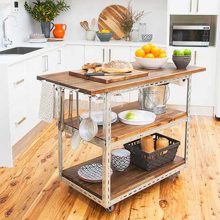 home dzine kitchen diy mobile kitchen island or workstation rh home dzine co za
