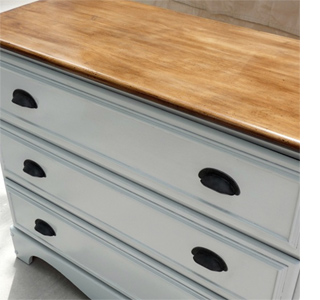 Home Dzine Makeover Furniture With Pine Moulding